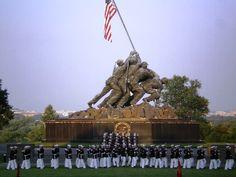 Hidden Gems of Washington DC - Silent Drill Iwo Jima