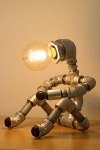 Pipe art lights