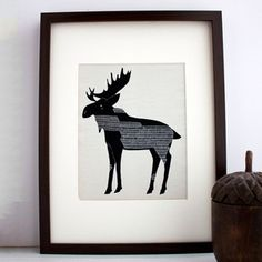 moose  Fab.com | Sweet And Simple Art Prints