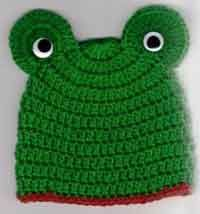 Lots of patterns for crocheted baby hats