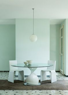 Designer Dining Tables - Give your dining room a special charm - Decoration Top Contemporary Dining Table, Dining Table Design, Round Dining Table, Modern Furniture, Furniture Design, Best Dining, Decoration Design, Ceramic Table, Best Interior