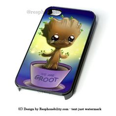 Guardian Of The Galaxy Baby Groot Dancing iPhone 4 4S 5 5S 5C 6 6 Plus – Resphonebility