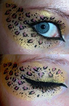 Wow!  I can't even apply eyeliner without looking like I've colored my face.  (grin)