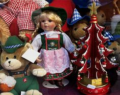 Munich - Dolls and toy bears