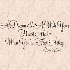 A Dream Is A Wish - Cinderella Wide x Tall Vinyl A Wall Decal Quote Home Decor Wall Art Lettering Graphic Home Wall Decor Disney Wall Decor, Home Decor Wall Art, Canvas Quotes, Wall Quotes, Cinderella Baby Shower, My Sister Quotes, Letter Wall Art, Bedroom Quotes, Dream Wall