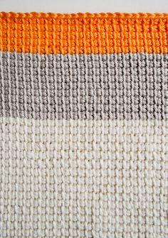 Tunisian Crochet Washcloths | Purl Soho