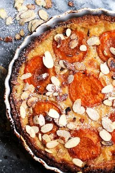 Apricot season is here! We're celebrating with this vanilla apricot tart – filled with a decadent pastry cream and sticky sweet tart roasted apricots, it is truly a celebration.