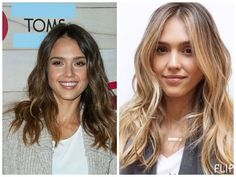 changing dark hair to blonde, before and after pictures - Google Search