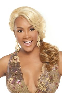 Buy Vivica Fox Synthetic Deep Lace Front Wig Curtis at Luxe Beauty Supply, your premier destination for the best wigs online and the most valuable service. Synthetic Lace Front Wigs, Synthetic Wigs, Weave Hairstyles, Wedding Hairstyles, Vivica Fox, Side Swept Bangs, Best Wigs, Hair Supplies, Half Wigs
