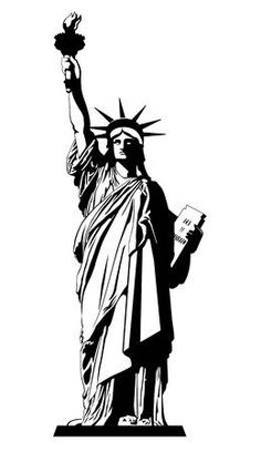 The Statue of Liberty. Vector illustration bridge park building state state building village manhattan center of liberty square Surfboard Art, Illustration, Vector Illustration, Liberty Tattoo, Statue, Art Pictures, Face Stencils, Statue Of Liberty Tattoo, Statue Of Liberty Drawing