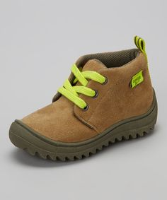 OshKosh B'gosh Khaki & Green Ramon Ankle Boot by OshKosh B'gosh #zulily #zulilyfinds