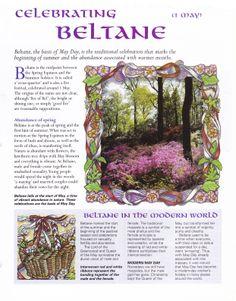 Beltaine:  Celebrating #Beltane.