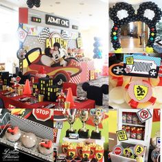 Mickey Mouse Race Car Party | Dream Flavours  Celebrations