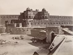 A gateway to the Red Fort in Delhi. Parts of Old Delhi date back more than years, when the city was known as Shahjahanabad. The fort was designated a UNESCO World Heritage Site in Image copyright RGS-IBG. Delhi City, Vintage India, Capital City, Aerial View, Historical Photos, Continents, Places To Visit, History, World