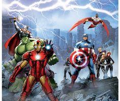 Rideaux de voilage - Avengers  Disney