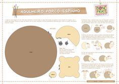 moldes gato de feltro - Pesquisa Google