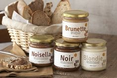 Our favorite natural chocolate hazelnut spread alternatives, like Noisella. Mmmm.