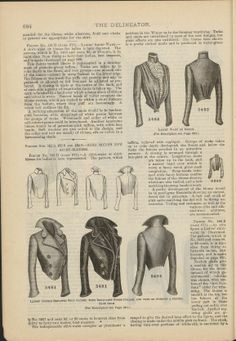 Sequence 30 (Page 684): The delineator. Paris ; New York : Butterick Pub. Co. Harvard University Library PDS