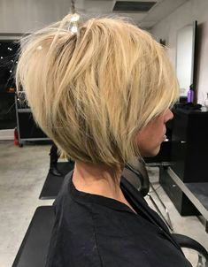 Latest Layered Haircuts for Short Hair short-hairstyless - Bob Haircut With Layers - Hair Health And Beauty, Hair Beauty, Bob Hairstyles, Straight Hairstyles, Bob Haircuts, Layered Haircuts, Elegant Hairstyles, Medium Hair Styles, Short Hair Styles