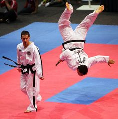 ITF taekwondo sparring competition - Google Search