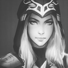 Ashe fanart *----* discovered by 민희 . ✩ on We Heart It