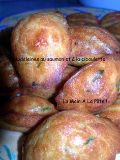 La saga des madeleines pour l'apéritif ! -