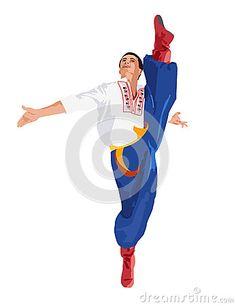 ukrainian dancer vector - Pesquisa Google