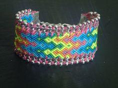 bracelet brésilien manchette modèle Lolipop : Bracelet par purple-art