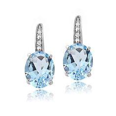 10K Gold Earrings Something For Me NATALIA DRAKE Emerald//White Topaz