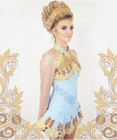 537dc4d9cb76 Irish dance solo dress- look at the sleeves! Irish Dance Dresses, Celtic  Dance