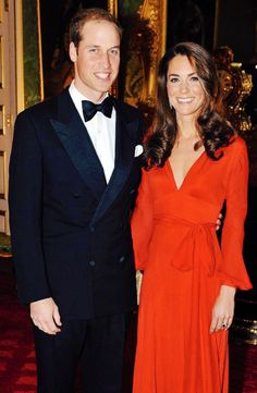 Could care less about him, but Kate is just simply always stunning.