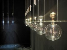 """""""PERFUME"""" lamps by Melogranoblu."""