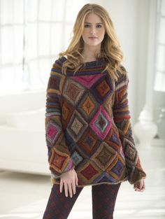 Image of Jewel Box Pullover / Lion Brand http://www.lionbrand.com/patterns/L40568.html?iP=1