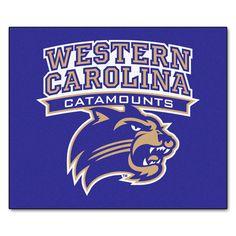 Collegiate Western Carolina Tailgater Outdoor Area Rug