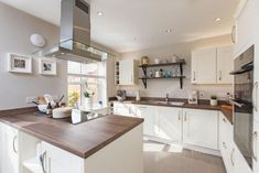 4 bedroom detached house for sale - The Astley at Oak Tree Gardens, Frearson Road Donington le Heath Leicestershire Home Kitchens, Open Plan Kitchen Dining, Bloor Homes, Log Home Kitchens, Open Plan Kitchen, Detached House, House, House Movers, Log Homes