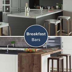 New Kitchen, Kitchen Island, Kitchen Facelift, Breakfast Bars, Kitchen Inspiration, Perfect Place, Doors, Space, Modern