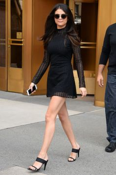 Need ideas for how to style a little black dress? The 100 best LBDs of 2015 to look to for inspiration: Selena Gomez