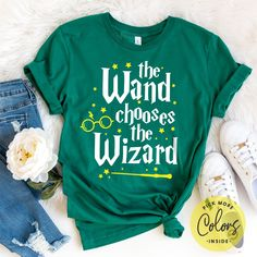 HARRY POTTER Youth Girls Raglan Tank Top Sleeveless T-Shirt The Wand Chooses The Wizard White