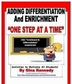 FREE PRINTABLES to help teachers manage independent enrichment projects for their gifted students and advanced learners in the regular classroom!