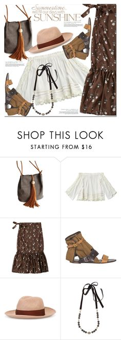 """""""Mermaid skirt"""" by fshionme ❤ liked on Polyvore featuring Borsalino and Hipchik"""