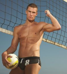 Volleyball men sexy