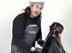 Patrick McIvoe, artistic and techniCulture director for Goldwell and KMS California, uses Goldwell Topchic and Elumen for his dip dye technique.