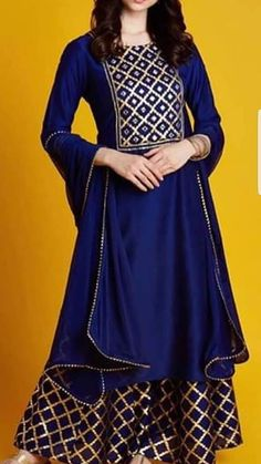 Designer Party Wear Dresses, Kurti Designs Party Wear, Indian Designer Outfits, Dress Neck Designs, Designs For Dresses, Blouse Designs, Stylish Dresses, Simple Dresses, Casual Dresses