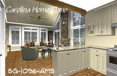 Small open floor plan. Craftsman cottage style, 2 bedrooms and 2 baths plus bonus room.