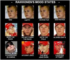 10 Of The Best Kimi Raikkonen Quotes Ever - Formula 1 Funny