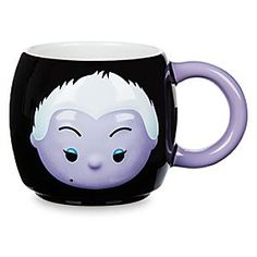 Ursula ''Tsum Tsum'' Mug | Disney Store You're in danger of stirring up trouble with this Ursula ''Tsum Tsum'' Mug. The sea witch from <i>The Little Mermaid</i> is given a ''Tsum Tsum'' makeover on this large ceramic cup with molded detailing from our Disney Villains range.