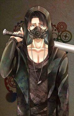 Shingeki no Kyojin fan art - Captain Levi