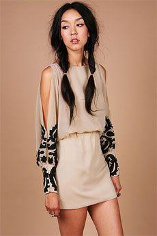 Shadow Patch Dress