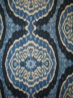 Batik ikat fabric - wow...need to find this fabric!