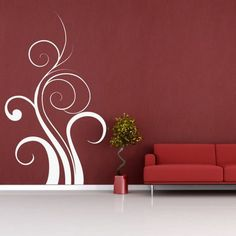 Ornamental | ARTstickers Wall Tattoo, Amazing Decor, Shabby Chic Decor, Artsy Fartsy, Home Projects, Indoor Outdoor, Architecture Design, Decal, Ornaments